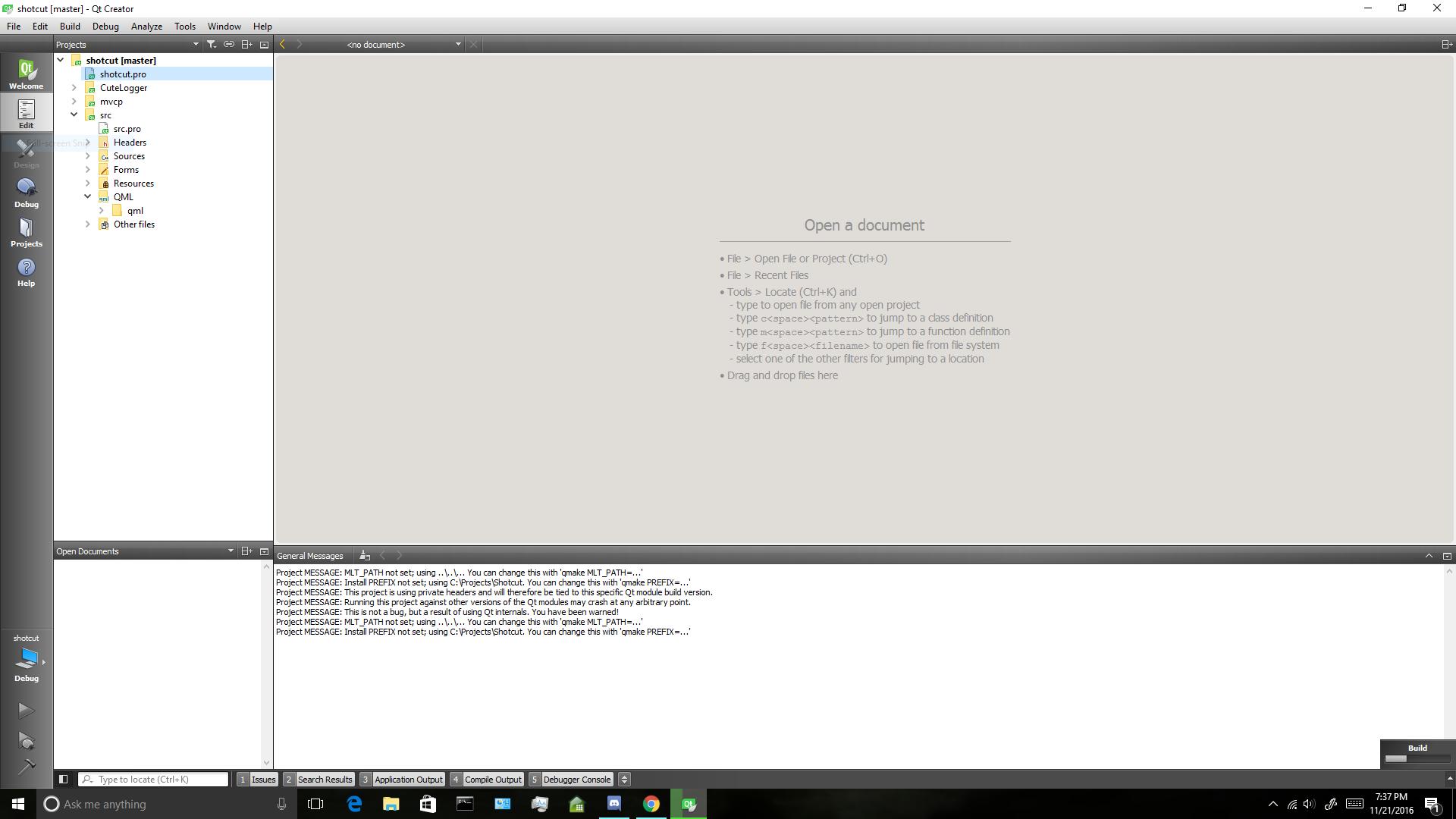 Shotcut - How To Use the Windows SDK